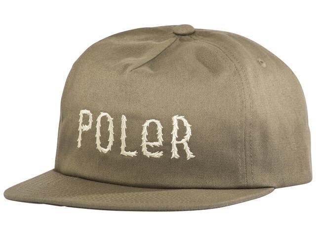 POLER Fur Font Snapback - Couvre-chef - marron